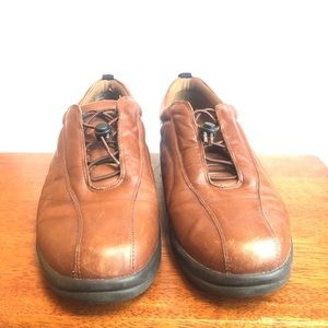 Hush Puppies Chrissy Leather Upper Size 9C